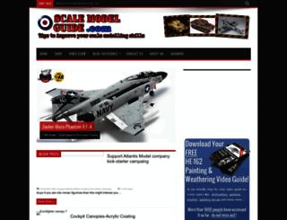 scalemodelguide.com screenshot