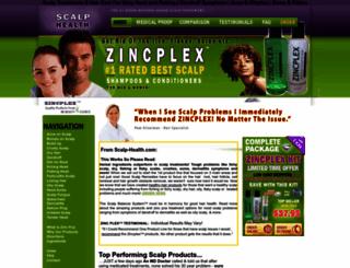 scalp-health.com screenshot