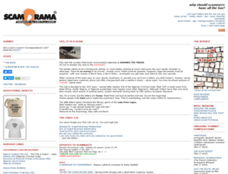 scamorama.com screenshot