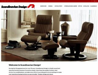 scandinaviandesignfurniture.com screenshot