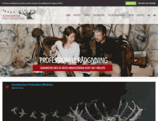 scandinavianprohunters.com screenshot