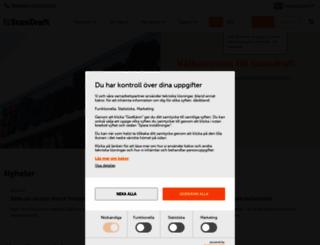 scandraft.se screenshot