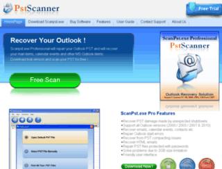 scanpstexe.net screenshot