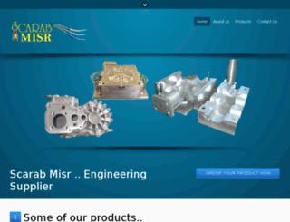 scarabmisr.com screenshot