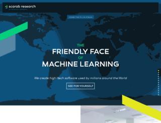 scarabresearch.com screenshot