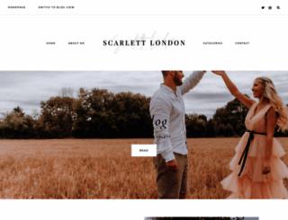 scarlettlondon.com screenshot
