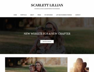 scarlettlovesstephen.com screenshot