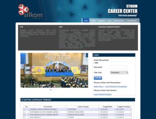 scc.stikom.edu screenshot