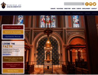 Sacramento diocese wedding