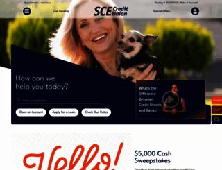 scefcu.org screenshot