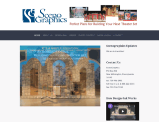 scenographics.com screenshot