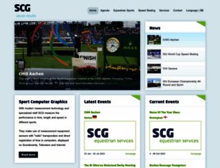 scgvisual.com screenshot