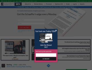 schaeffer.com screenshot