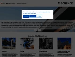 schenck.net screenshot