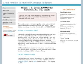 Access schiffglucosaminesettlement.com. Schiff Nutrition ...