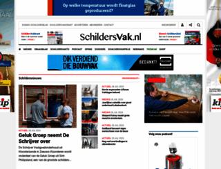 schildersvak.nl screenshot