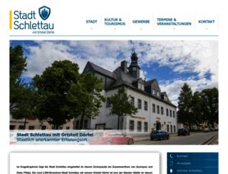 schlettau.de screenshot