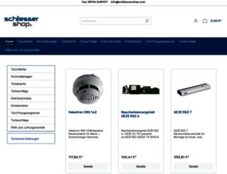 schliessershop.com screenshot