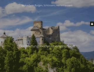 schloss-burg-verkauf.de screenshot