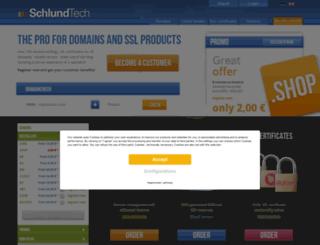 schlundtech.com screenshot