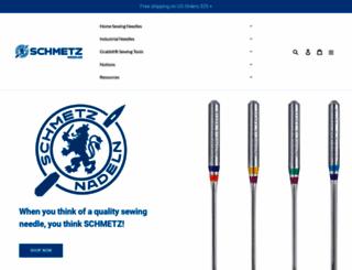 schmetzneedles.com screenshot
