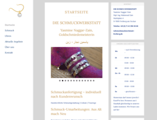 schmuckwerkstatt-freiberg.de screenshot