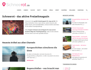 schneerot.de screenshot