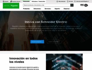 schneider-electric.es screenshot