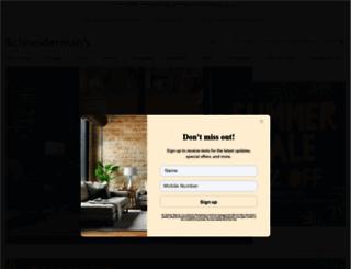 schneidermans.com screenshot