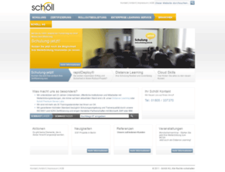 schoell.net screenshot