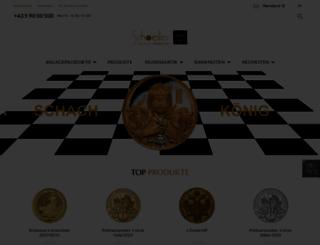 schoeller-muenzhandel.at screenshot