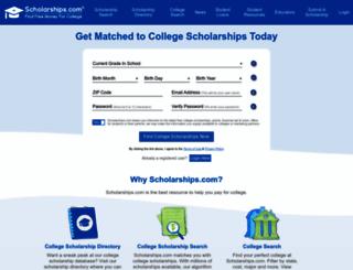 scholarship.com screenshot