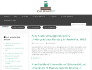 scholarship2014.net screenshot