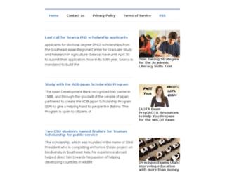 scholarshipexamples.net screenshot