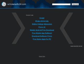 scholarsinfo24.com screenshot