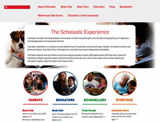 scholastic.com.au screenshot