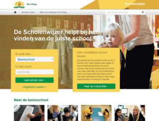 scholenwijzer.denhaag.nl screenshot