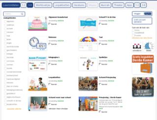 schoolbordportaal.nl screenshot