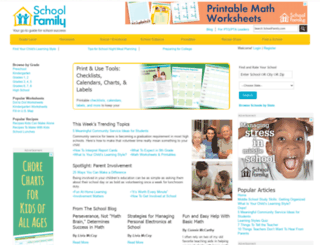 schoolfamily.com screenshot