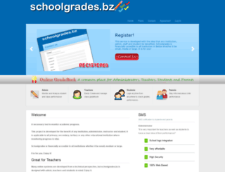 schoolgrades.bz screenshot