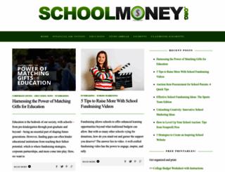 schoolmoney.org screenshot