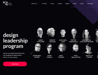schoolofdesignthinking.com.au screenshot