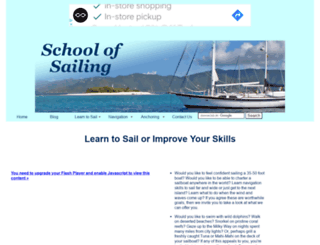 schoolofsailing.net screenshot