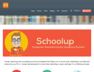 schoolup.in screenshot