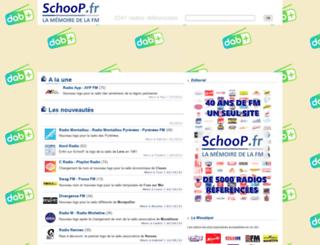 schoop.fr screenshot