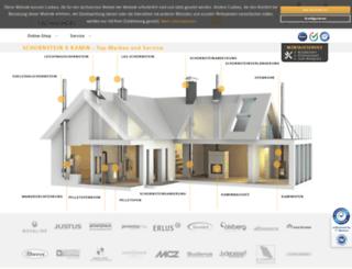 Schornstein Fachhandel.de Screenshot