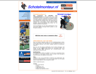 schotelmonteur.nl screenshot