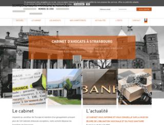 schreckenberg-parniere.fr screenshot