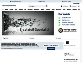 schreiber-electronics.de screenshot