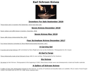schroenknives.com screenshot